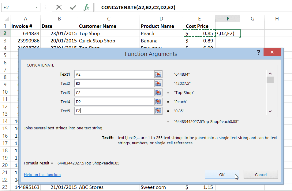Finding and removing duplicate data in Excel