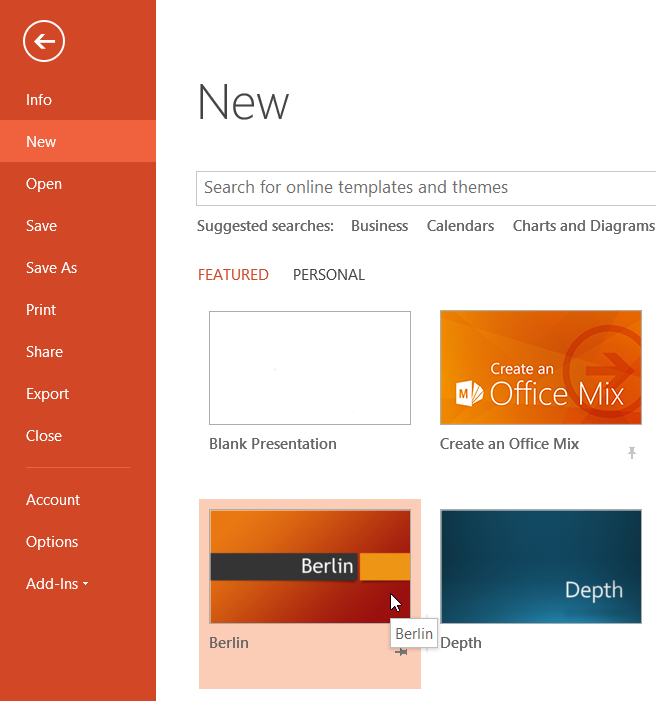 powerpoint – updating your presentation with your company template, Modern powerpoint
