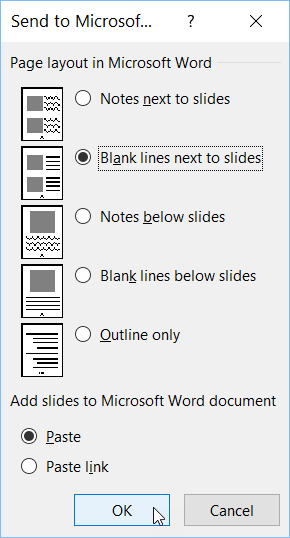 export-powerpoint-presentation-to-word