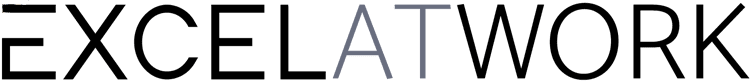 Excel at Work logo