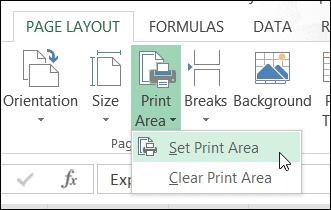 Excel Print