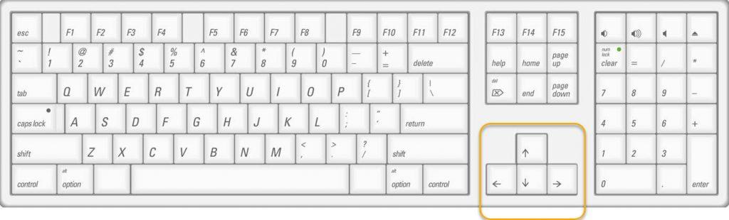 excel keyboard arrows not working