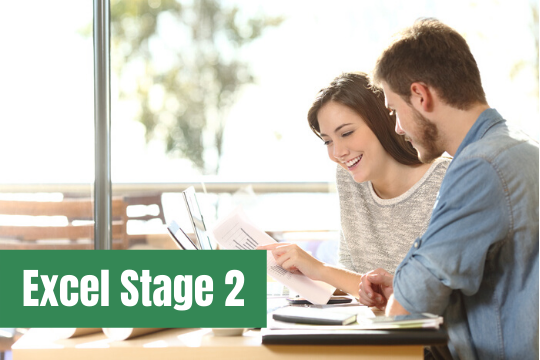 Excel Stage 2 course