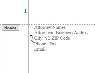 remove pleading line numbers in word
