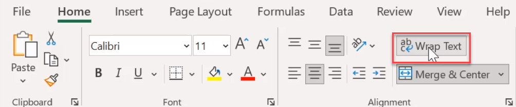 how to enter multiple lines in a single cell in excel